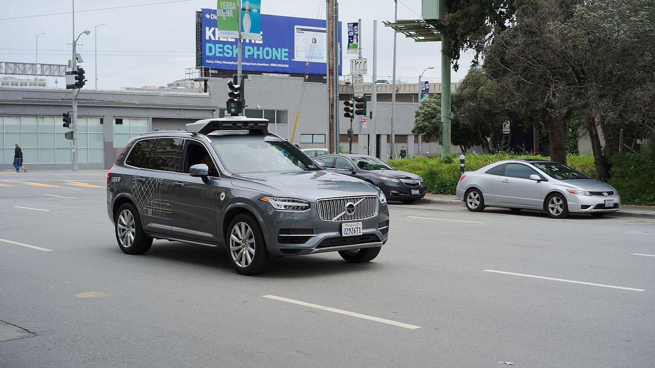 An Uber Autonomous Volvo XC90