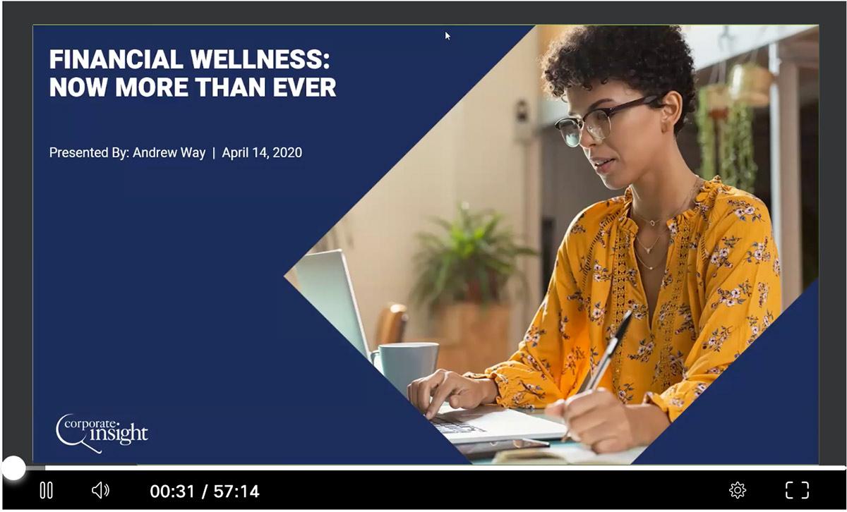 Financial Wellness Webinar