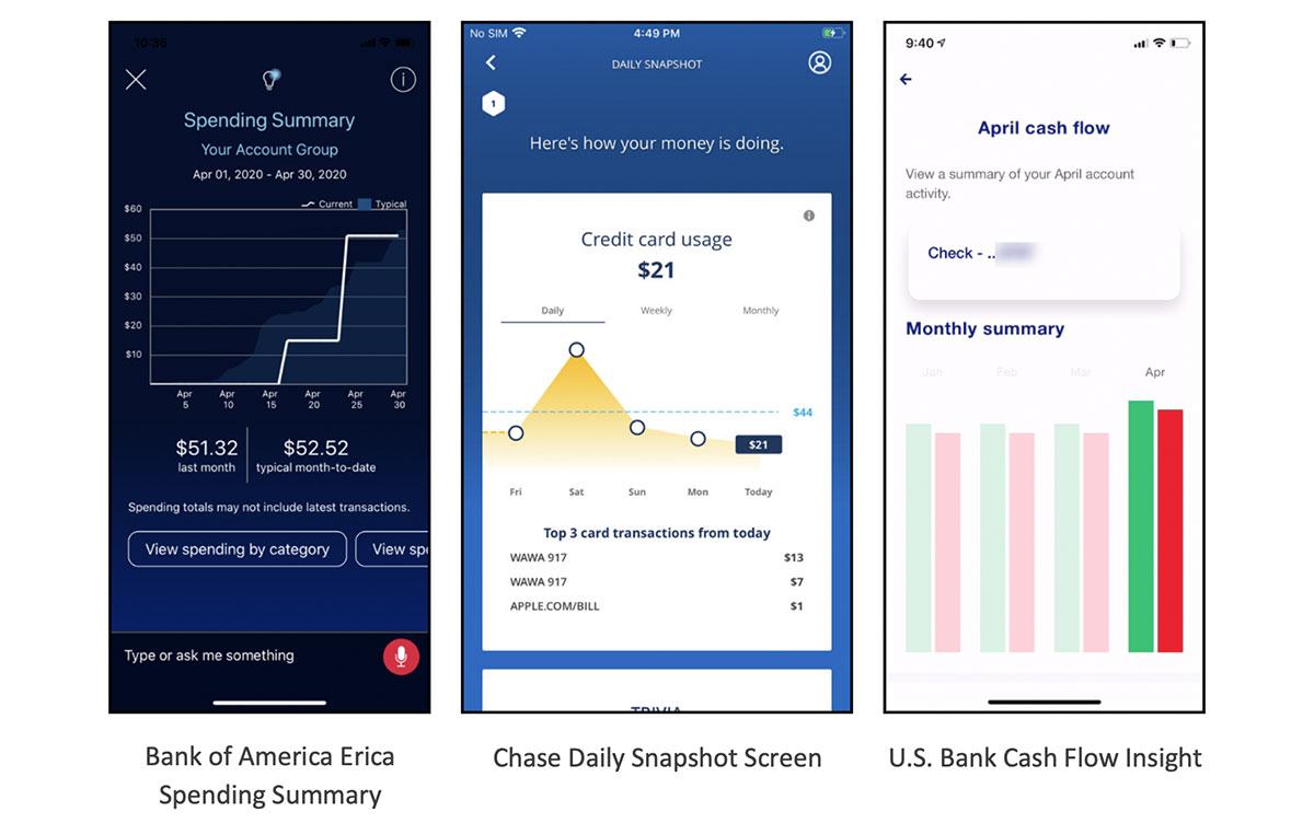 Innovative Mobile Banking Screenshots