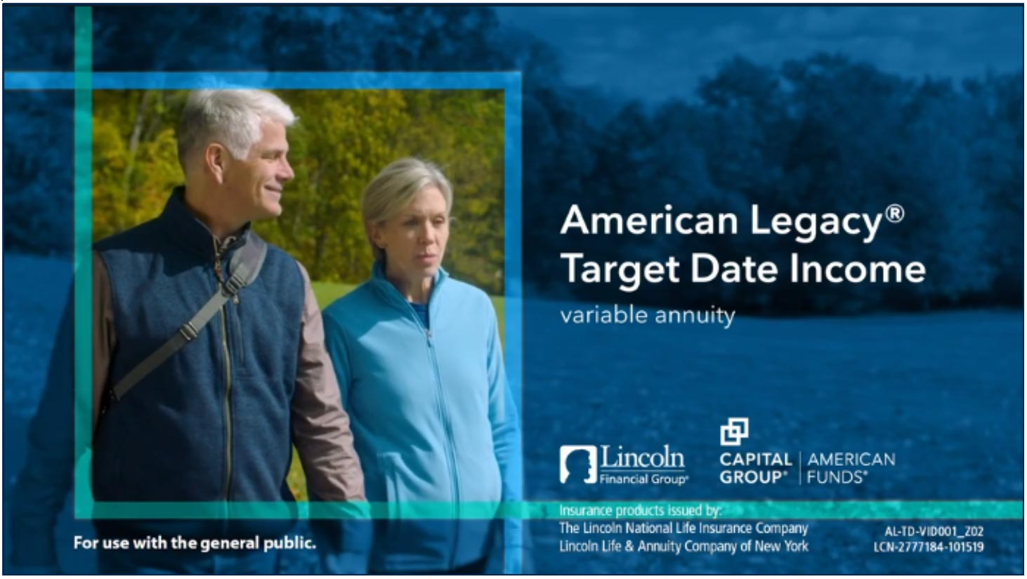 Lincoln Financial now offers target date income variable annuity.