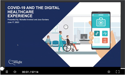 Webinar: Healthcare digital experience in COVID