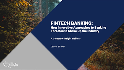 Innovative approaches from banking fintechs