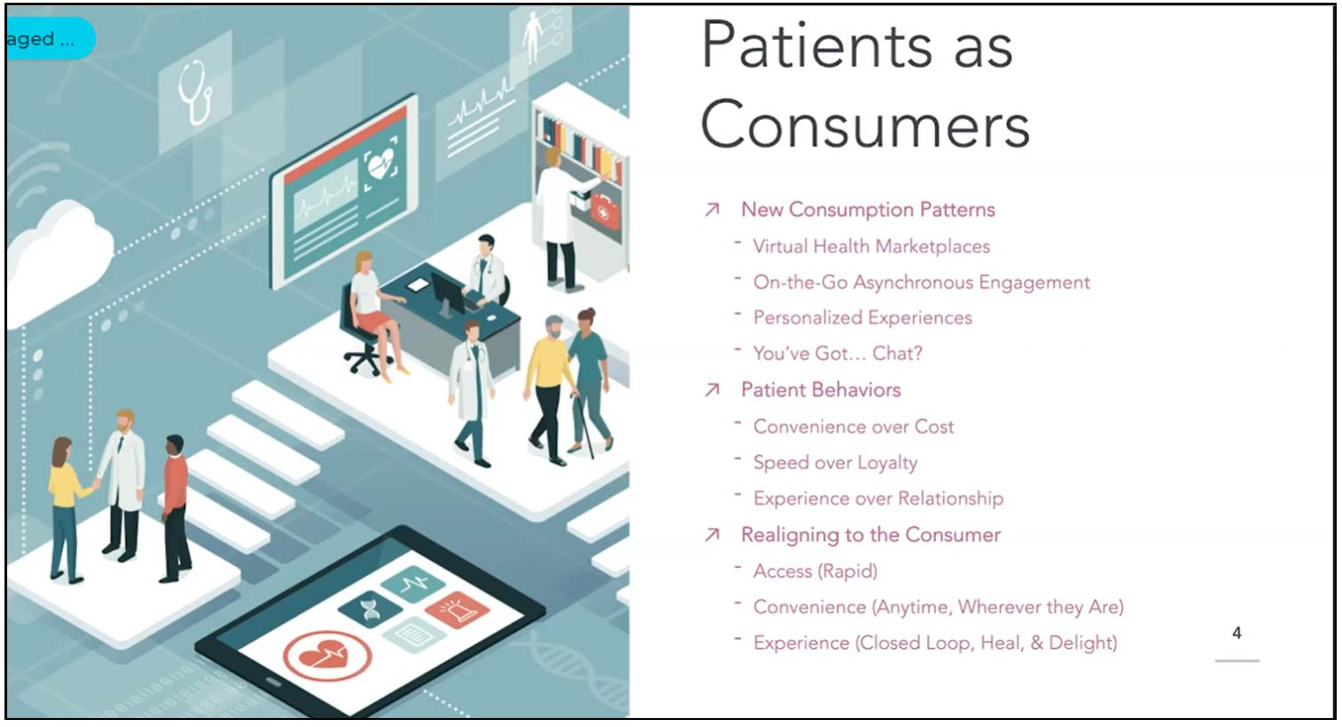 2020 healthcare innovations address shifting consumer expectations, patient expectations