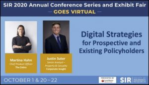 SIR conference takeaways from the Digital Strategies for Prospective and Existing Policyholders presentation